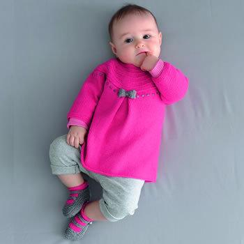 Tricot bébé gratuit robe