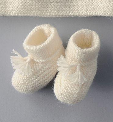 Tricoter des chaussons facile