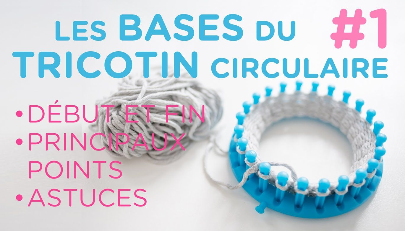 Tricotin geant rond
