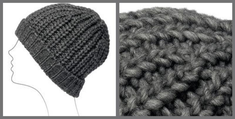 Tricoter un bonnet en cote anglaise