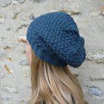 Tricoter un bonnet slouchy