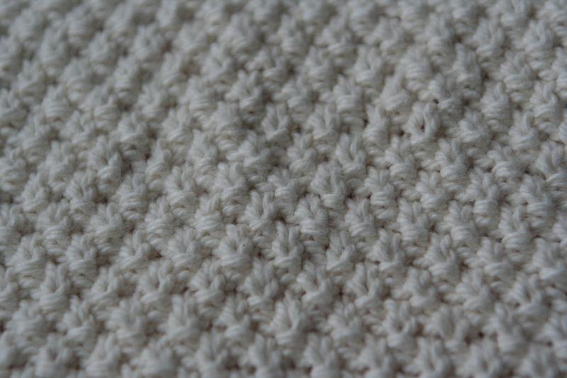 Tricoter en point de riz