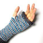 Tuto mitaine tricotin geant