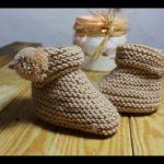 Zapatos tricot bebe