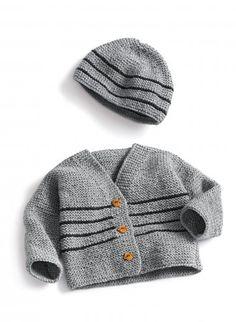 Kit tricot débutant bergere de france