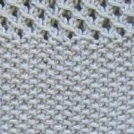 Terminer un tricot point de riz
