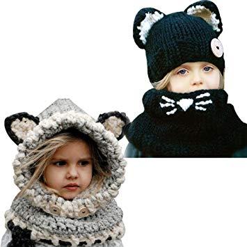 Tricoter un bonnet avec oreilles de chat