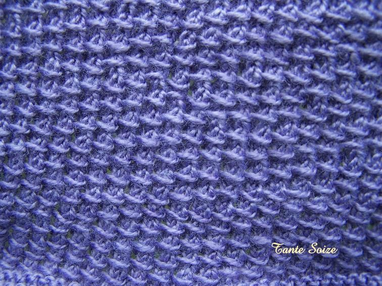Tricoter en rond point fantaisie