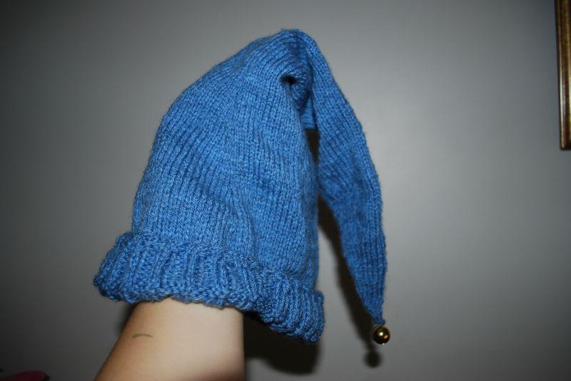 Tricoter un bonnet de lutin pour adulte