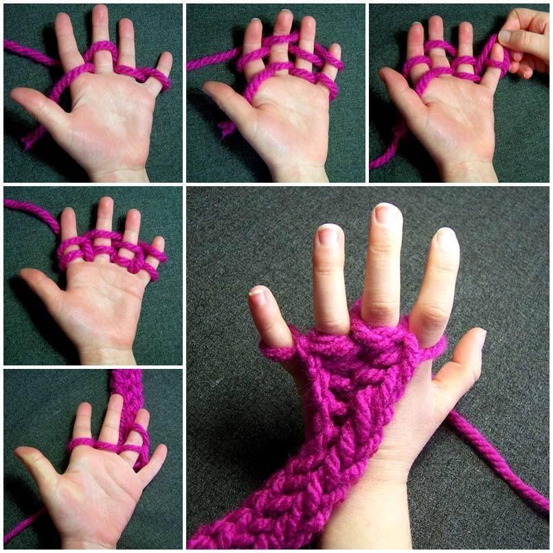 Tricoter un plaid avec ses mains