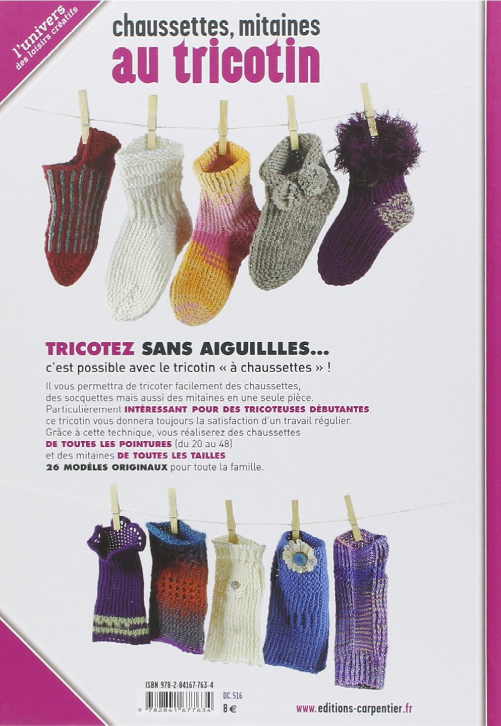 Tricotin chaussette