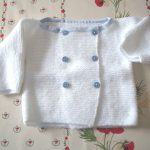 Tuto tricot debutant layette