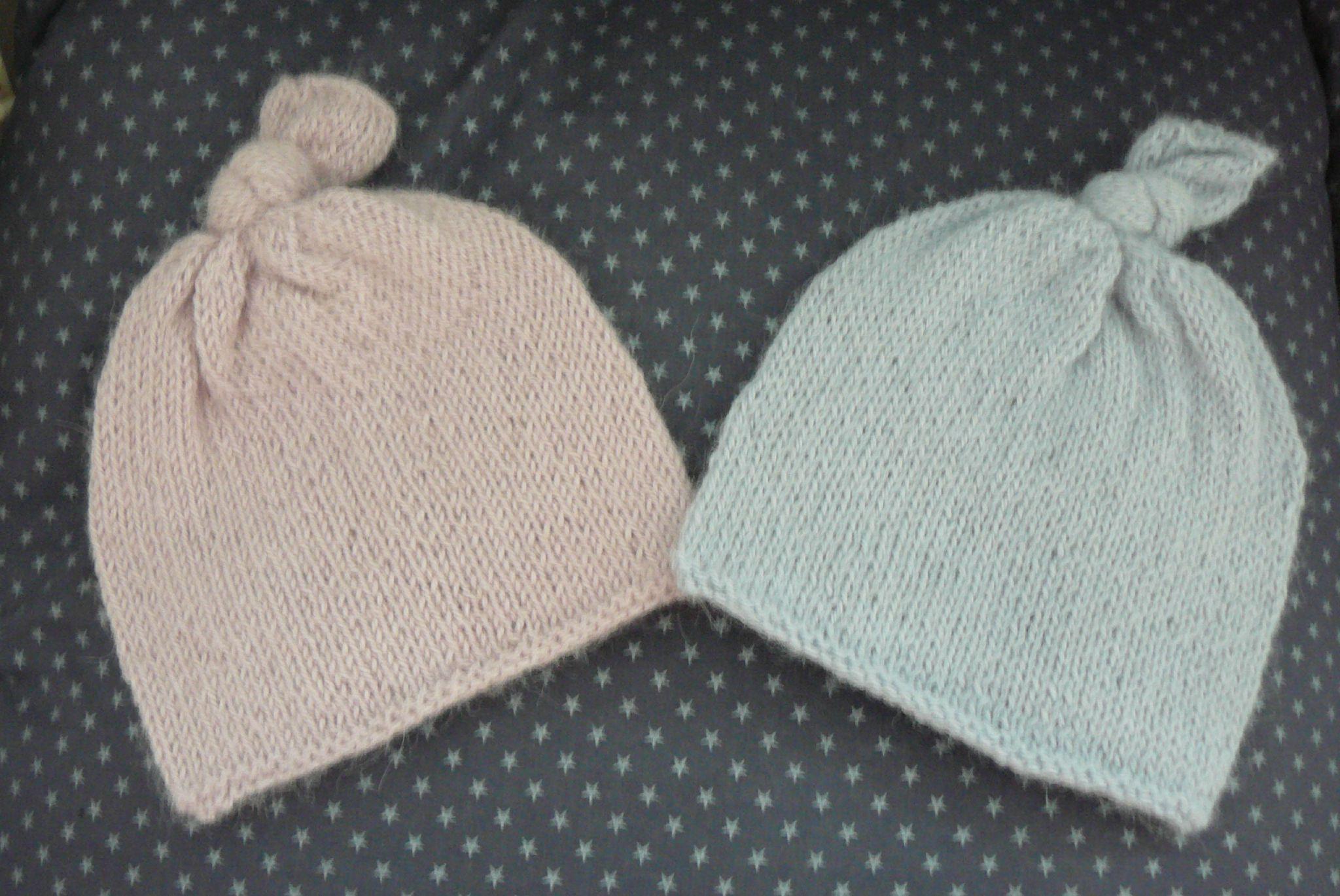 Tricoter un bonnet en coton