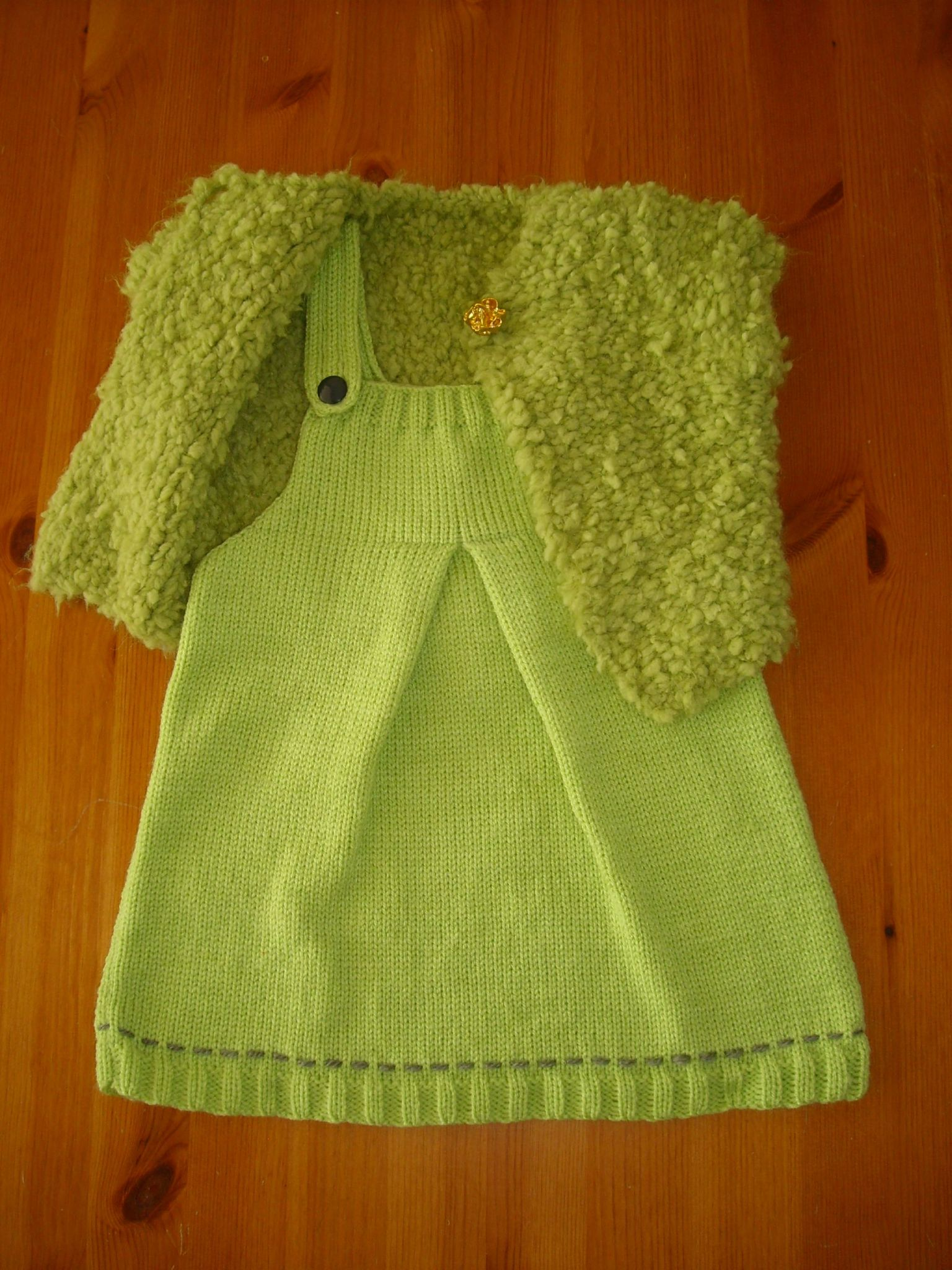 Tricot bebe pull