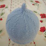 Tricoter bonnet bébé sans couture