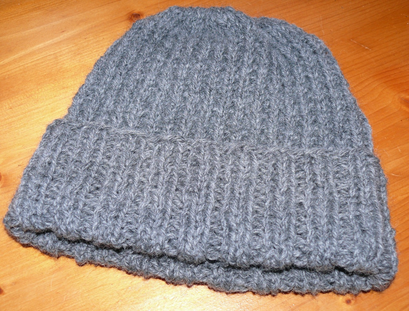 Tricoter un bonnet adulte homme