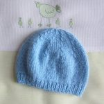 Tricot bonnet taille naissance