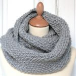 Tuto snood tricot point de riz