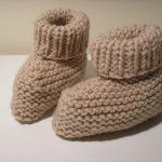 Tricoter facile des chaussons pour bébé