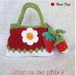Tricoter sac pour petite fille