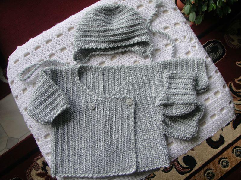Tricot bebe crochet