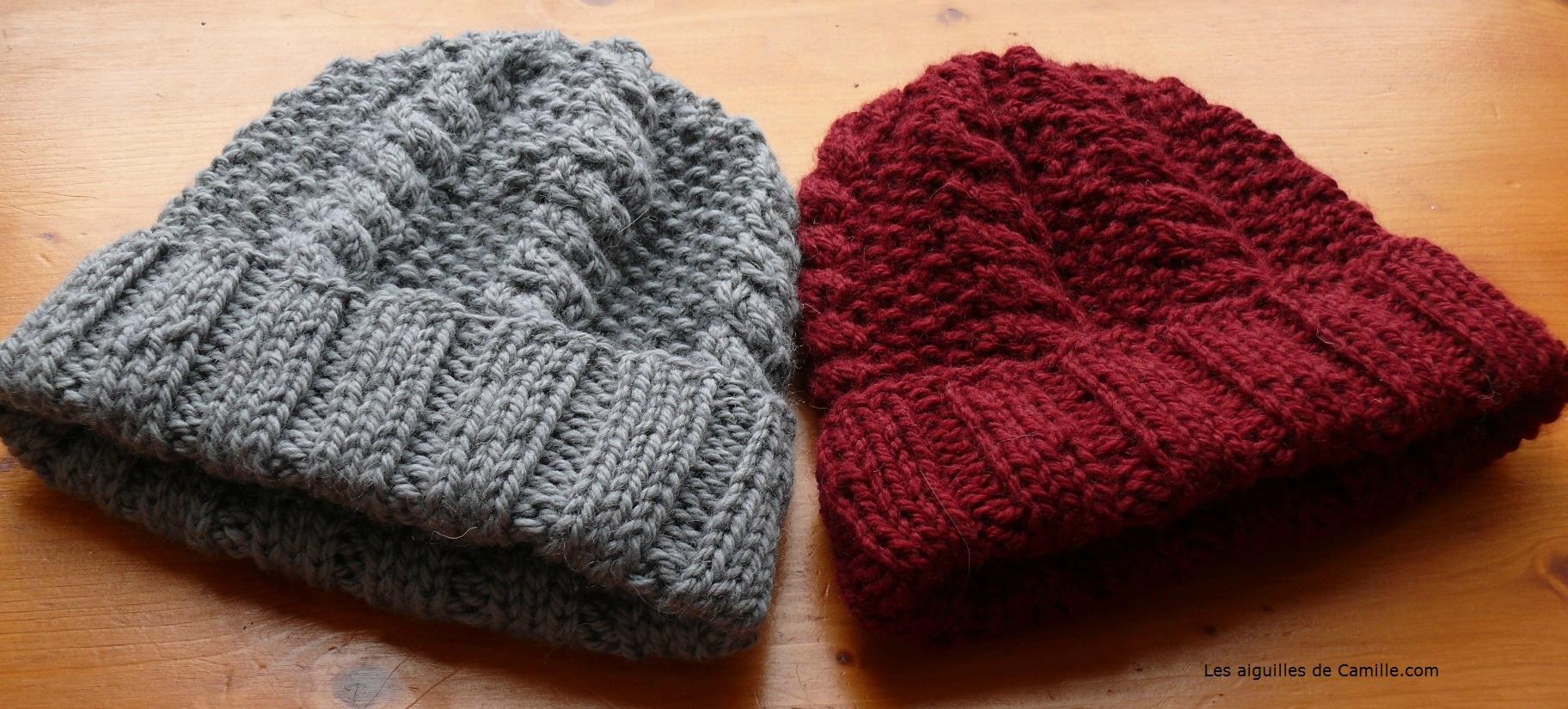 Tricoter un bonnet femme aiguille 4 5