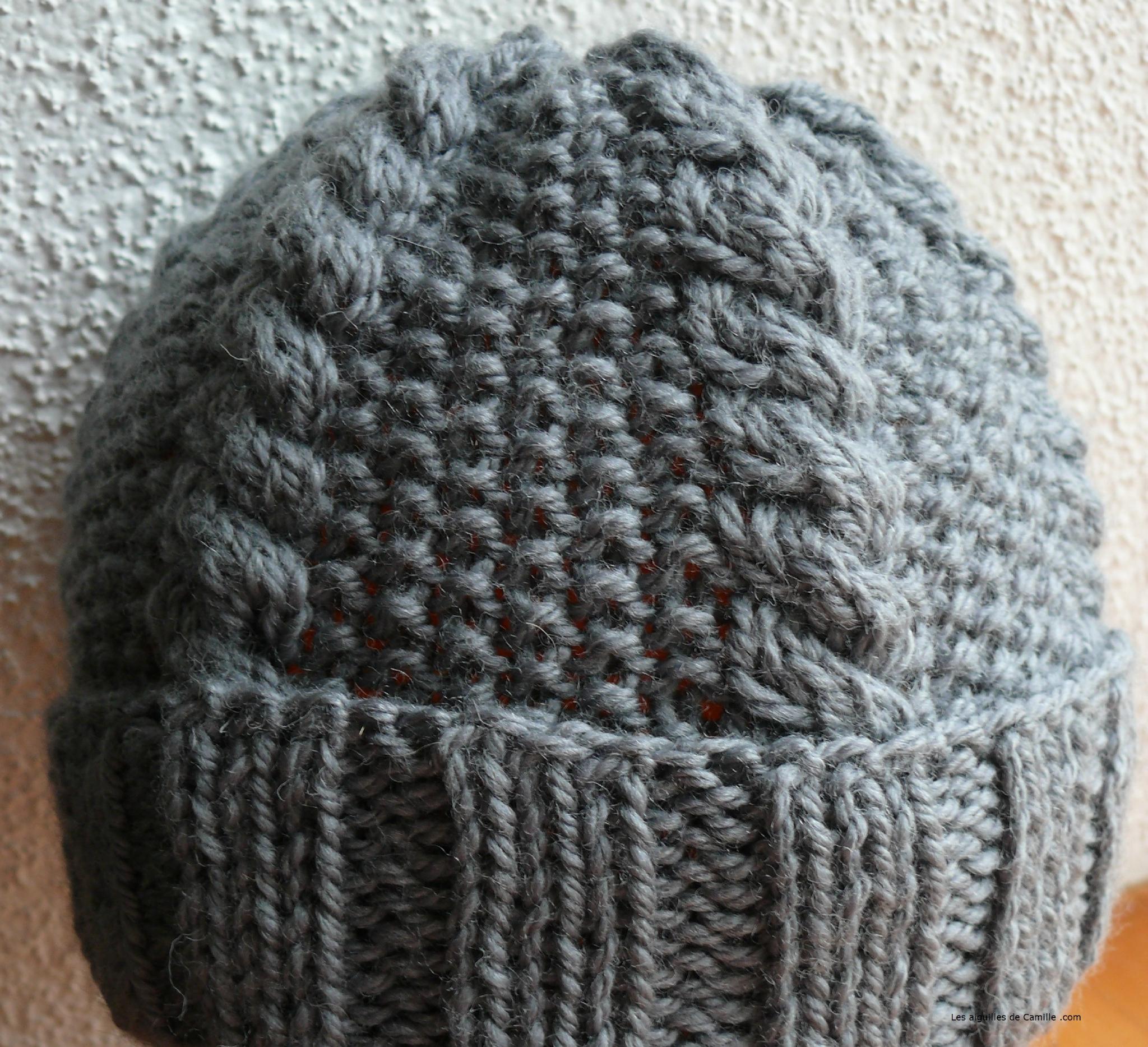 Tricoter un bonnet en magic loop