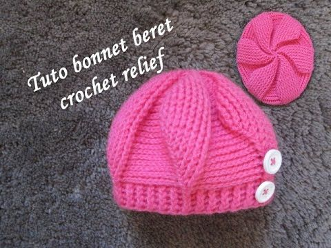 Tricoter bonnet bébé youtube