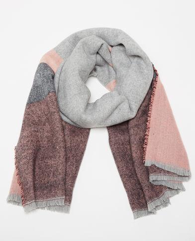 Tricoter echarpe plaid