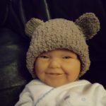 Tricoter bonnet bébé ourson