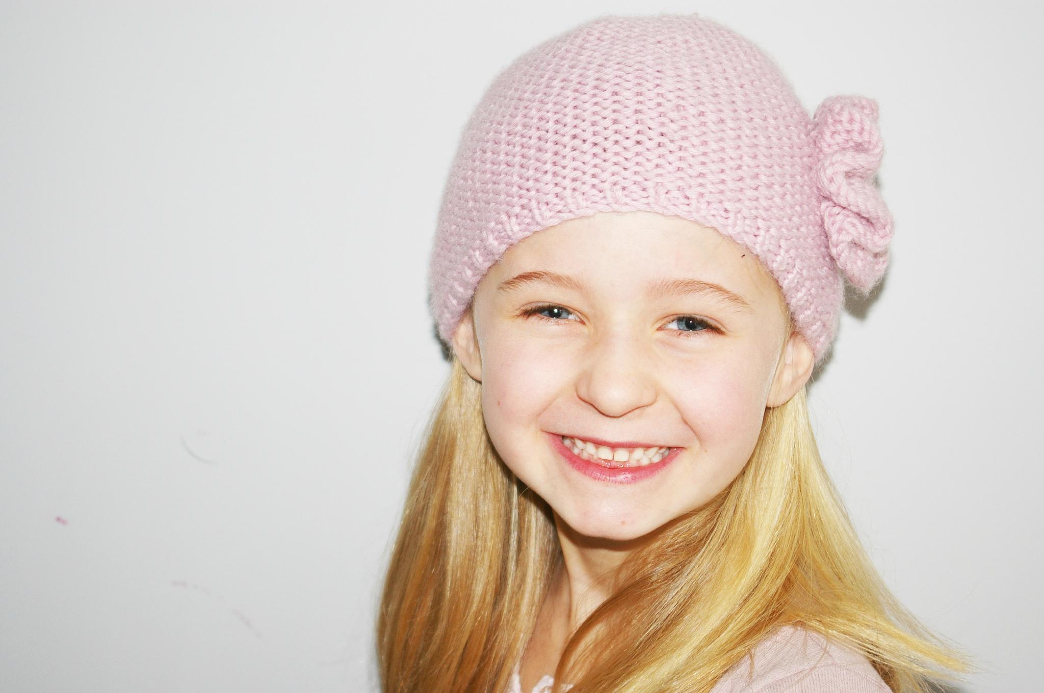 Tricoter un bonnet fille 8 ans