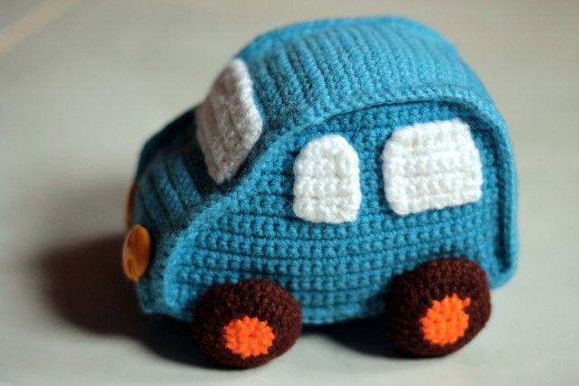 Tricoter en voiture