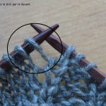 Tuto tricot augmentation invisible