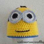 Tricoter un bonnet minion