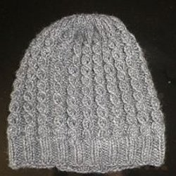 Tricot bonnet vannerie