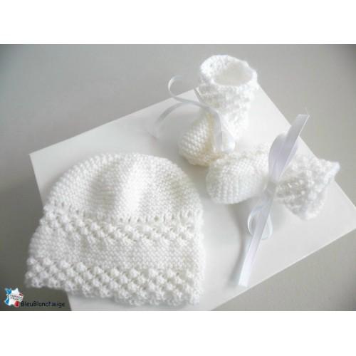 Tricot bébé fait main