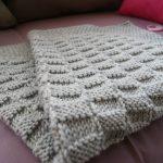 Couverture tricot bébé tuto