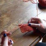 Tricoter nouvelle pelote
