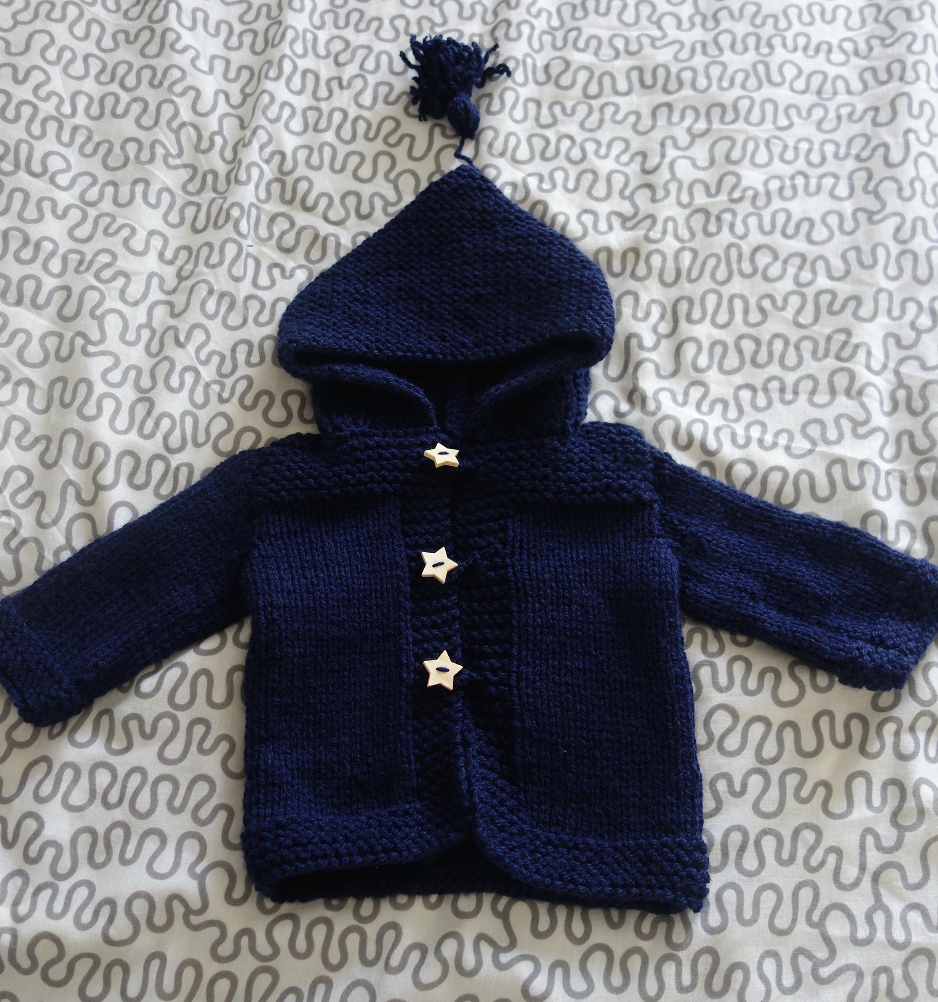 Tricot bébé taille