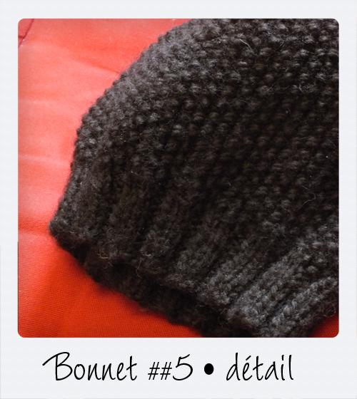 Tricoter un bonnet femme point de riz