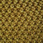 Tricoter en rond point mousse