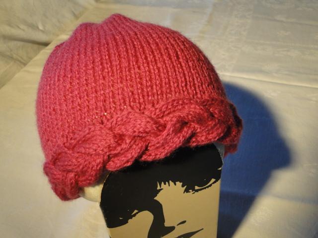Tricoter bonnet torsade