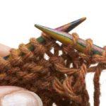 Tricot i cord paresseuse