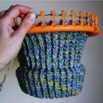 Tricoter un bonnet avec un cercle