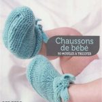 Tuto tricotin chausson naissance