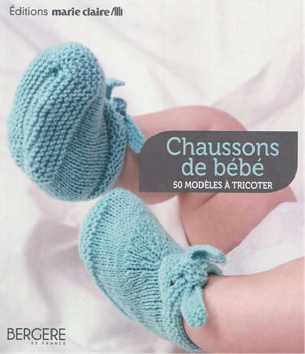 Tuto tricotin chausson naissance