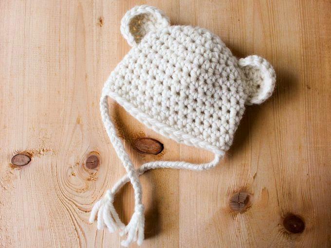 Tricoter un bonnet oreilles ourson