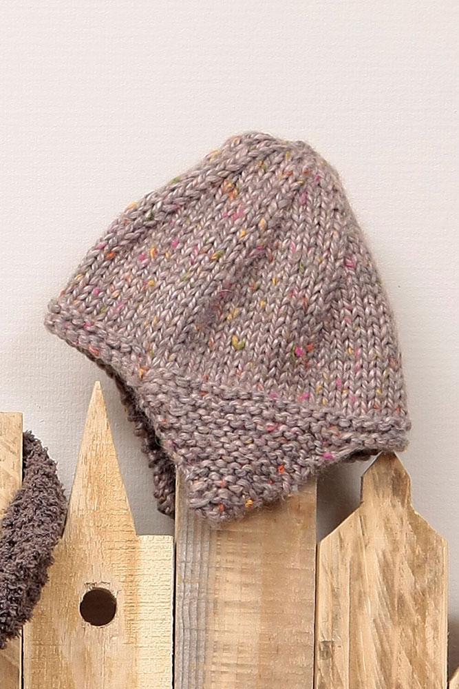 Tricoter un bonnet a oreilles