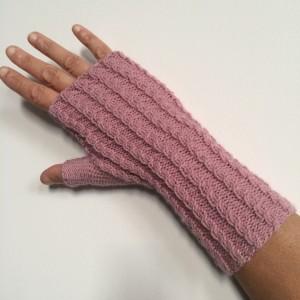 Tricoter en rond des mitaines