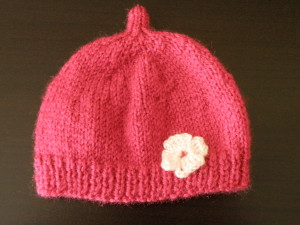Tricoter un bonnet cloche